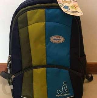 Ergo-Comfort Spinal Support Backpack (Blue)