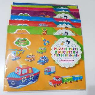 Brand new set fun puzzle set of 8