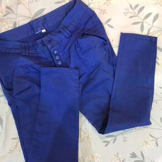 🔥降降降🔥寶藍色長褲