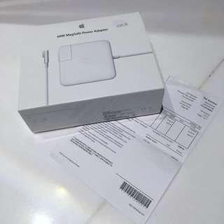BNIB Macbook Power Adapter(60w)