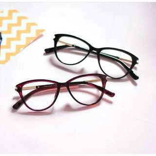 Kacamata Tom Frame Semi Cat Eye