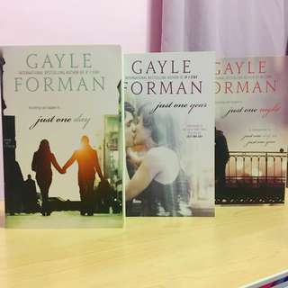 Just One Day, Just One Year, and Just One Night By Gayle Forman