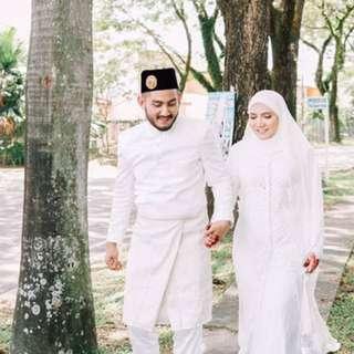 Customade Nikah / Rental Baju Melayu