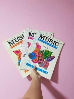 Music books (Sight reading/Percussion/Clarinet)