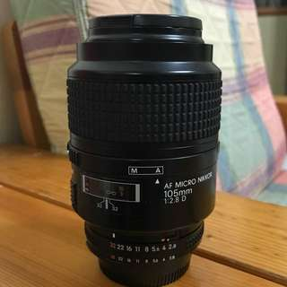 Nikon Af 105mm f2.8 D Macro