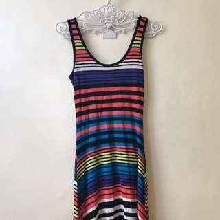 Cotton on long back dress