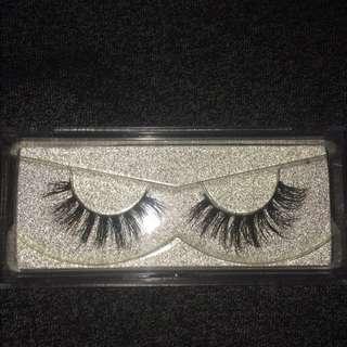 Mink fake eyelashes