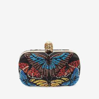 Alexander McQueen Beaded butterfly Embroidered Classic Chain