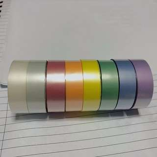 Satin Silk like  Washi Tape