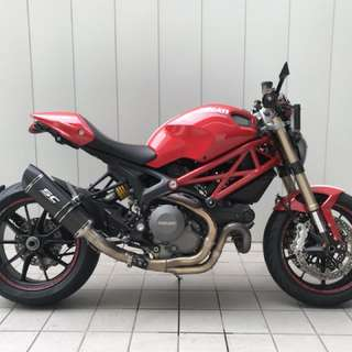 2013 Ducati Monster evo - with 6 Mths extended warranty from agent