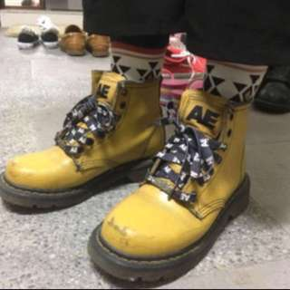 AE經典七孔真皮馬丁鞋
