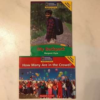 National Geographic Children Story Books