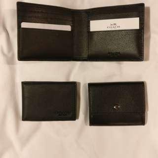 COACH - 3 in 1 Mens Wallet