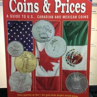 North American Coins and Prices US Canada Mexico