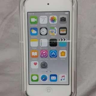 BNIB ipod touch 6th gen 128gb silver