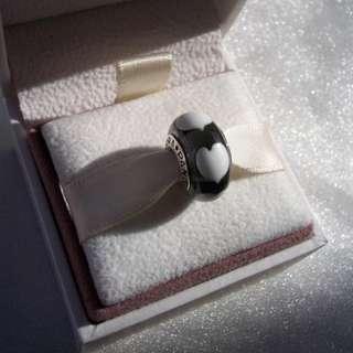 Pandora Ice LOVE White HEART