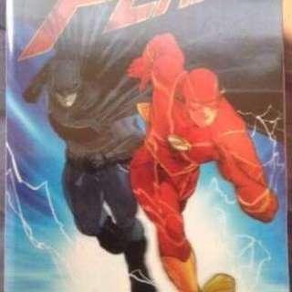 The Batman flash button lenticular cover Deluxe Edition hardbound