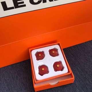 Lc Le creuset 特別版 紅色 煲夾
