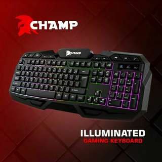 Champ gaming keyboard (Brand new & Sealed) Order now ! :)