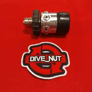 Drager 1st stage DIN 4500 psi. Dive Diving scuba