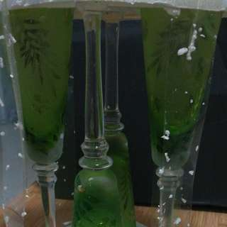 玻璃杯四隻