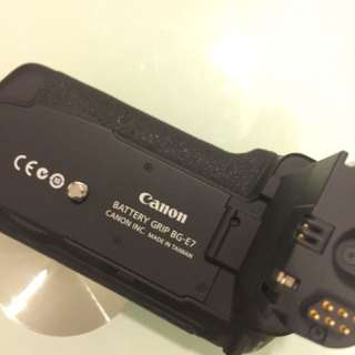 Battery Grip BG-E7 for Canon 7D Camera