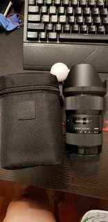 Sigma 18-35 f/1.8 Lens