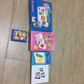 Chinese English Flash Cards all for $5