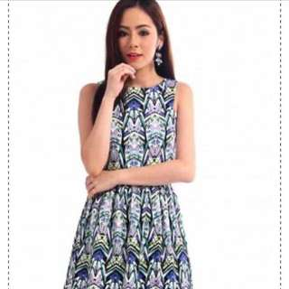 Allthingslovely Printed Prose Dress