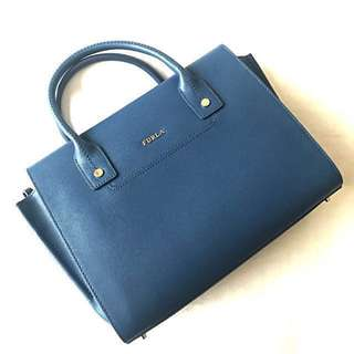 🈹全新 Furla Bag - blue (original price $4500+)