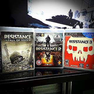 PS3 @ Resistance Series