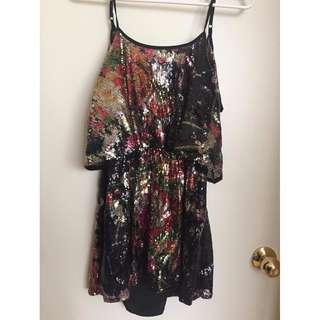 Sequin Lovers + Friends Dress