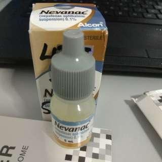 Nevanac Nepafenac ophthalmic