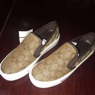 COACH 布鞋 厚底  7號 36.5