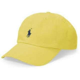 Polo assassin cap. Yellow