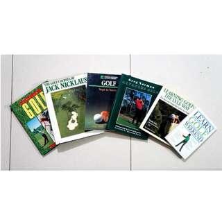 Golf Coffeetable Books