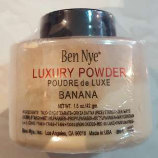 Aunthentic Ben nye banana powder
