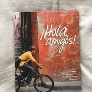 Beginners Spanish textbook