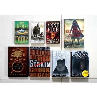 Fantasy, Paranormal, & SciFi Books Collection