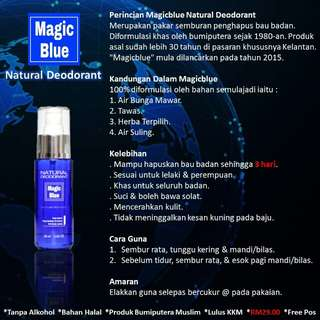 MAGIC BLUE