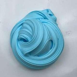 Blueberry fluff slime