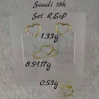 18K Saudi Gold
