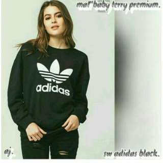 Switer adidas bahan babytery high quality
