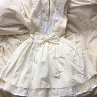 Super cute white dress