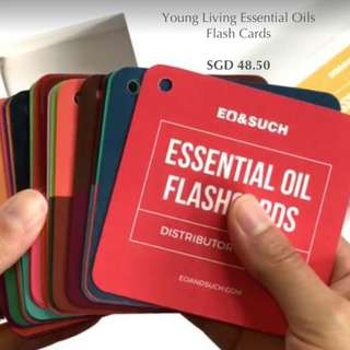 [PRE ORDER] Essential Oils Flash Cards for Young Living Oils