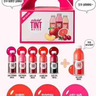 Peripera Vivid Tint Mini Juice box (6minis)