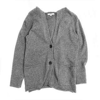 Uniqlo 灰色冷外套/毛衣