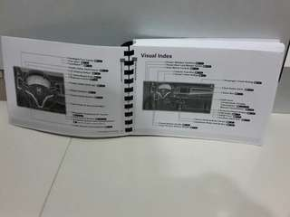 Honda Vezel Or HRV English menu with 483 pages.