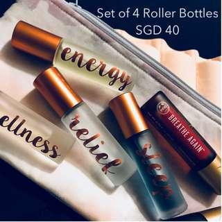 [PRE ORDER] Essential Oils Roller Bottles with Labels