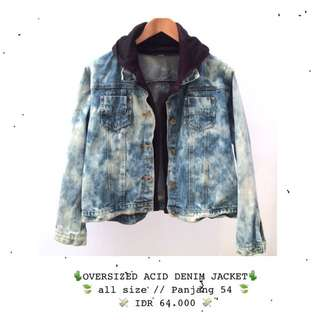 acid denim jacket